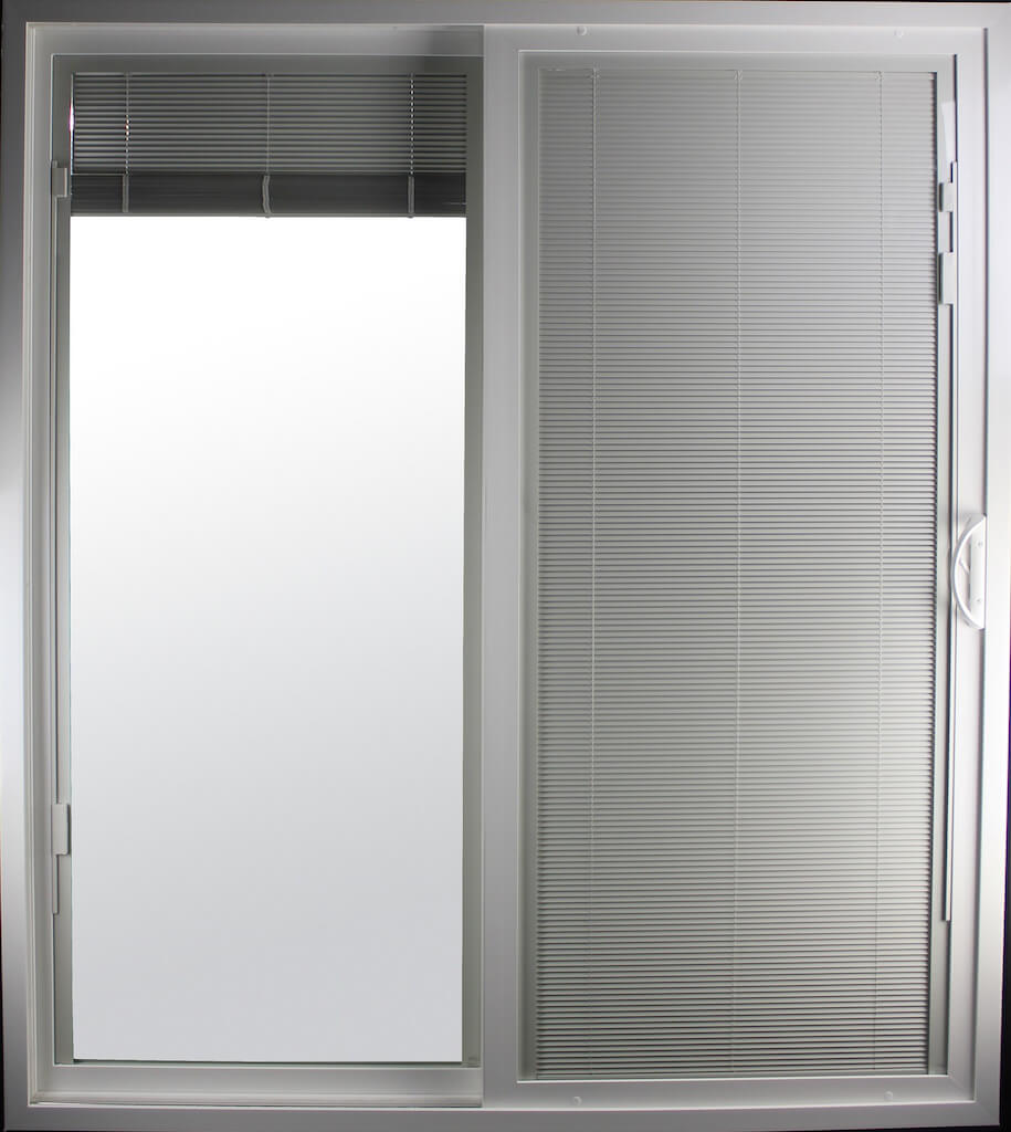 Our Sliding Doors With Blinds Or Privacy Shades